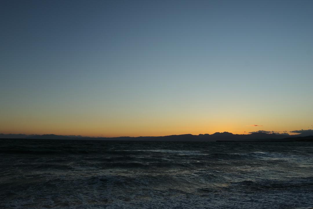 夕焼けと富士山(5)