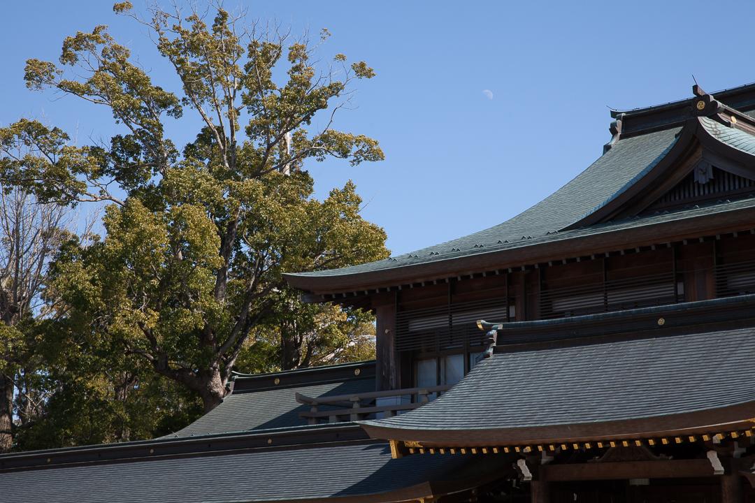 寒川神社の客殿