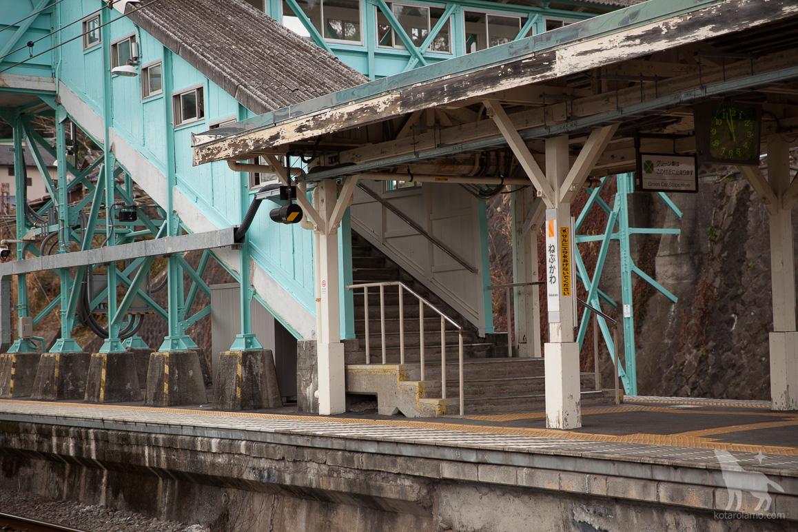 根府川駅のホーム