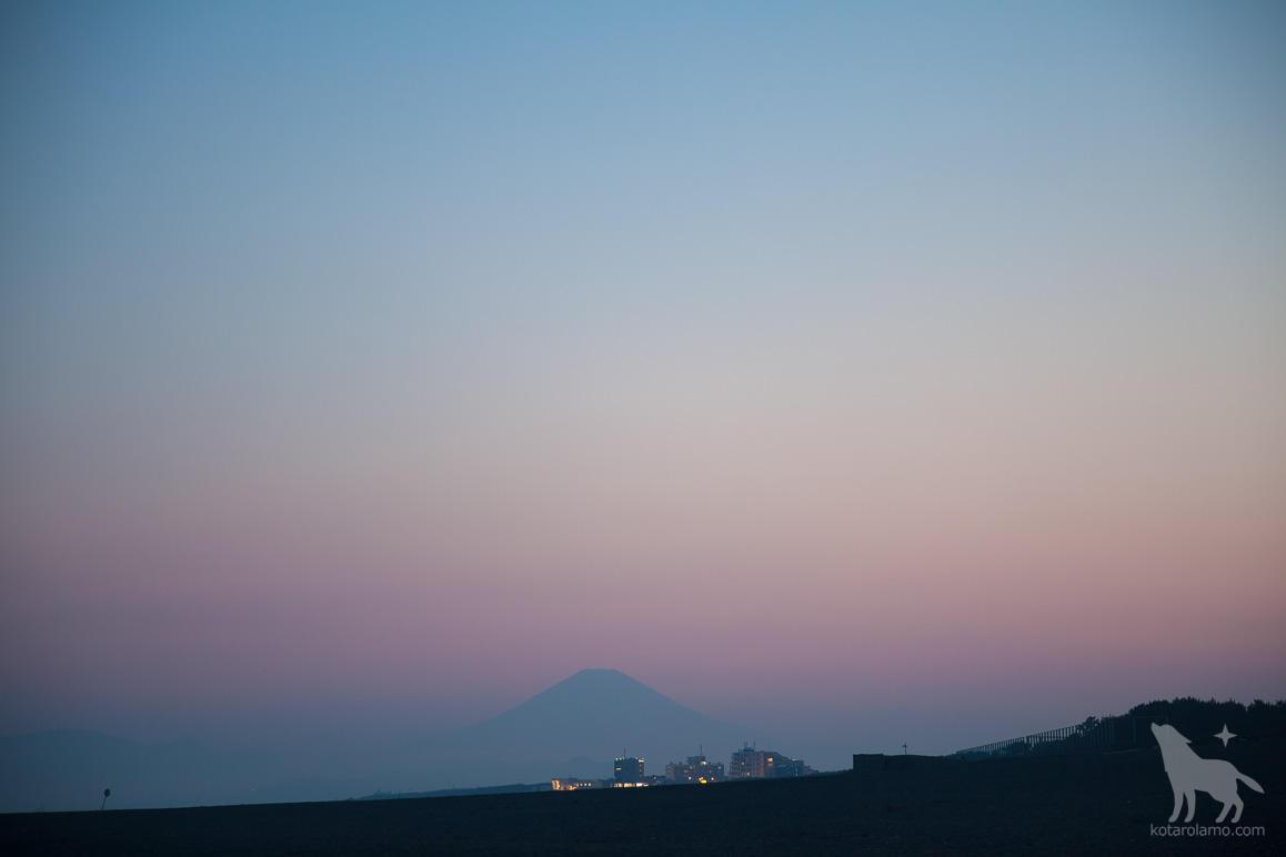 トワイライト富士山