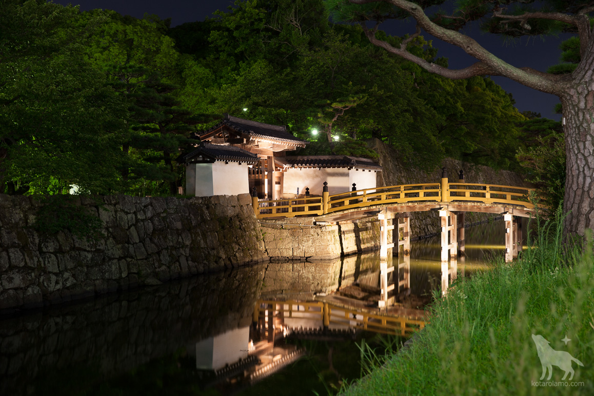 和歌山城公園の入り口