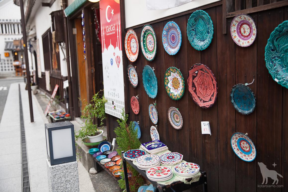 トルコ雑貨のお店