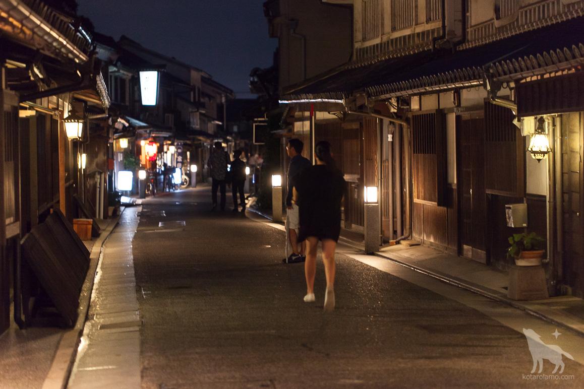 夜の本町(2)