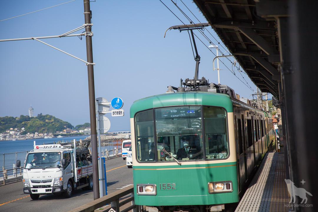 鎌倉高校駅からの風景