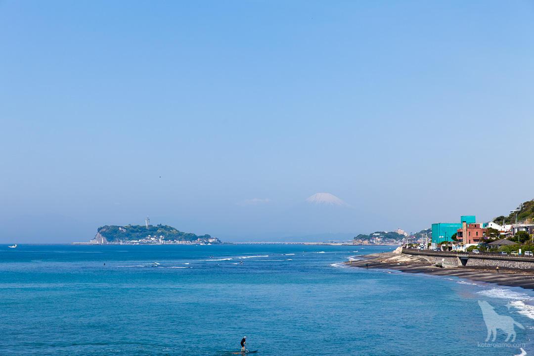 稲村ガ崎から眺める風景