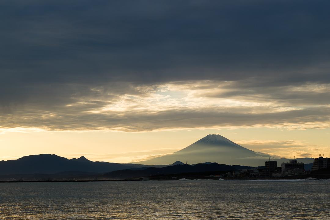 2020年10月18日の富士山(2)
