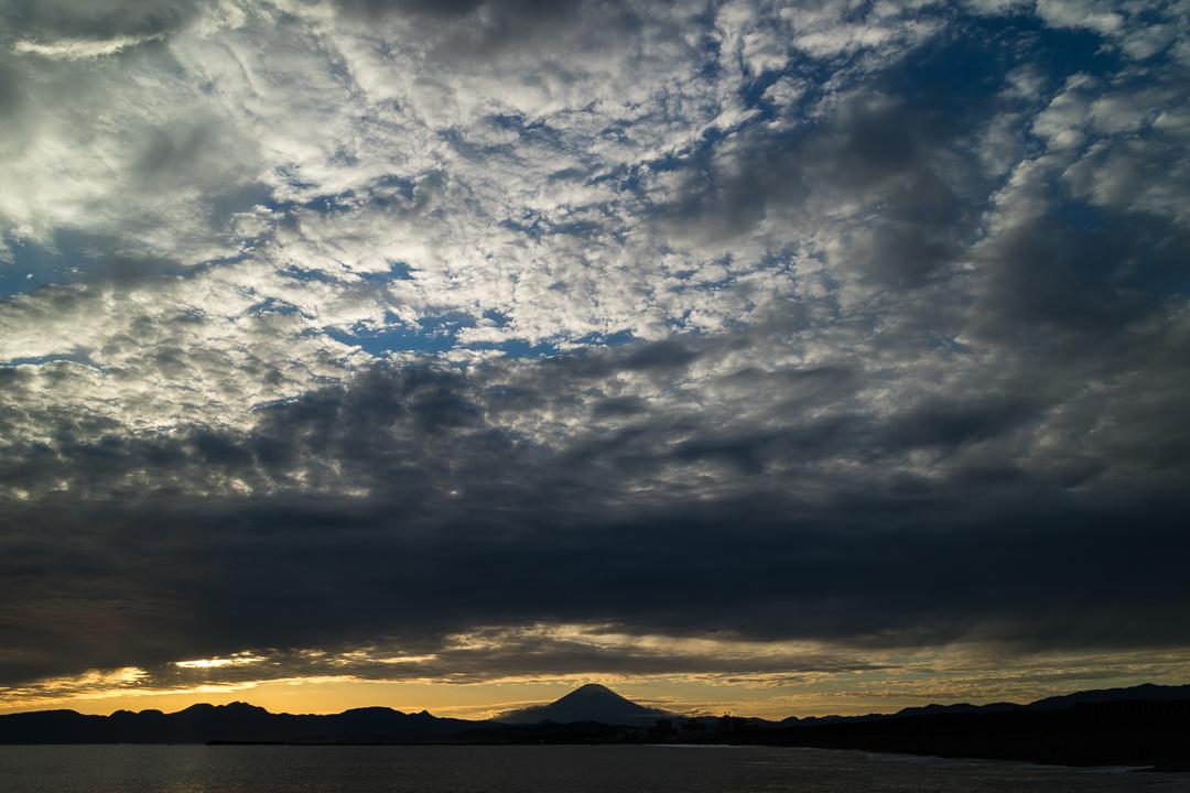 2020年10月18日の富士山(1)
