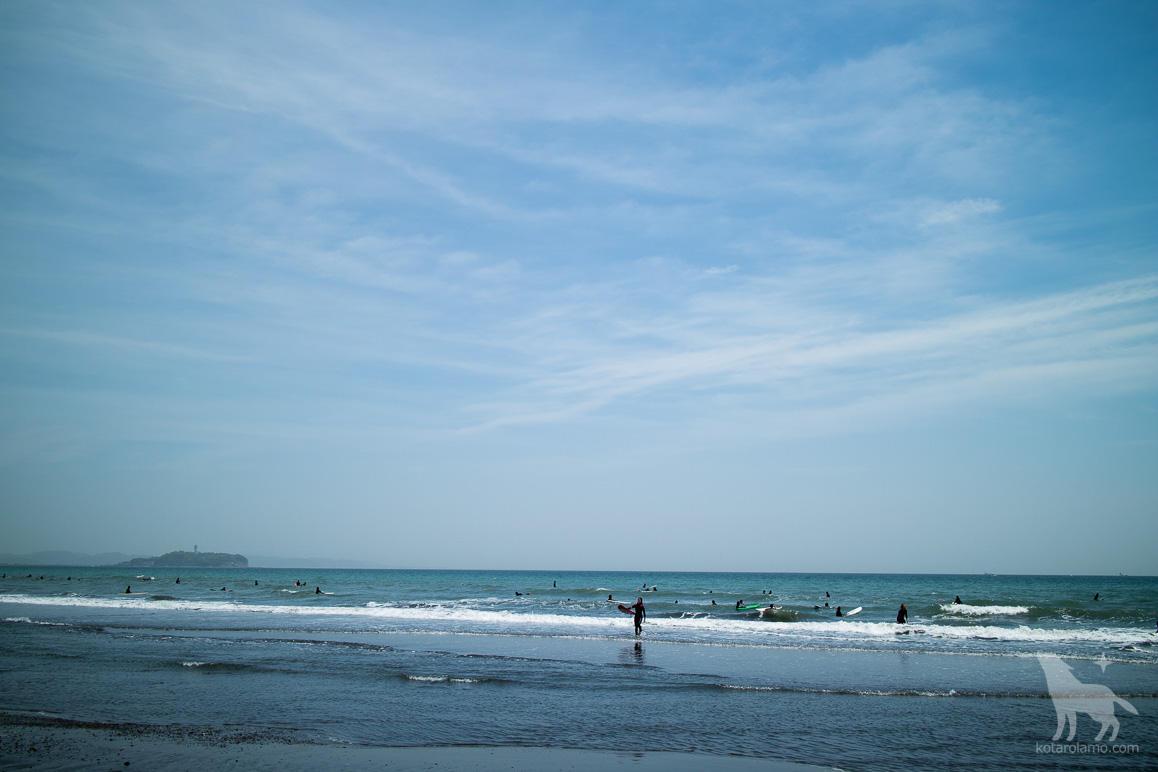 GW連休最後の海