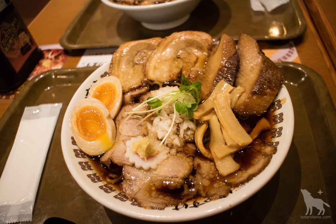 肉そば醤油スペシャル