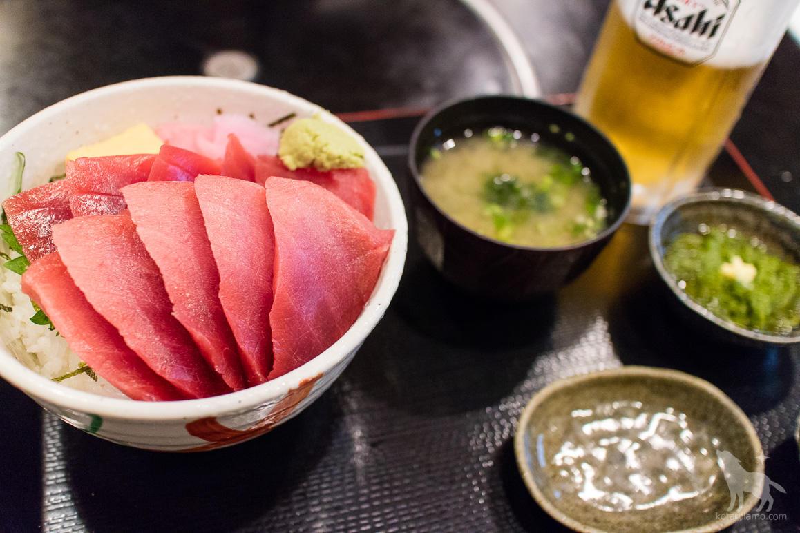 まんぼうまるの三崎マグロ丼