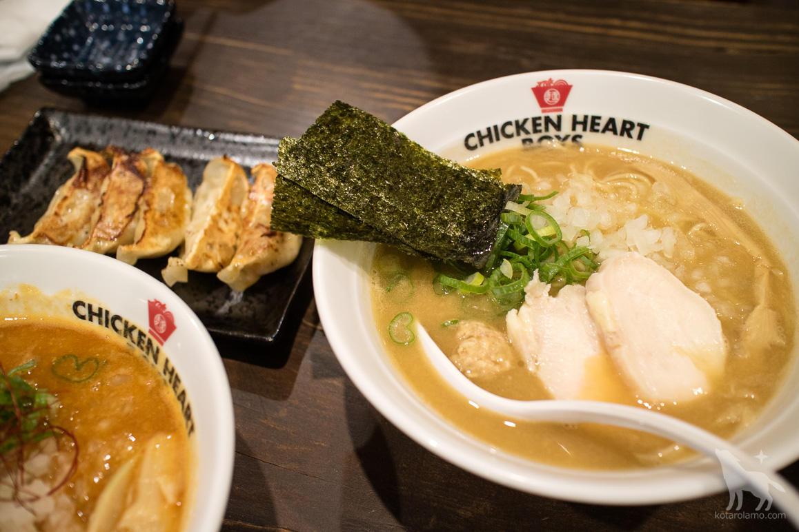 濃厚醤油鶏白湯そば