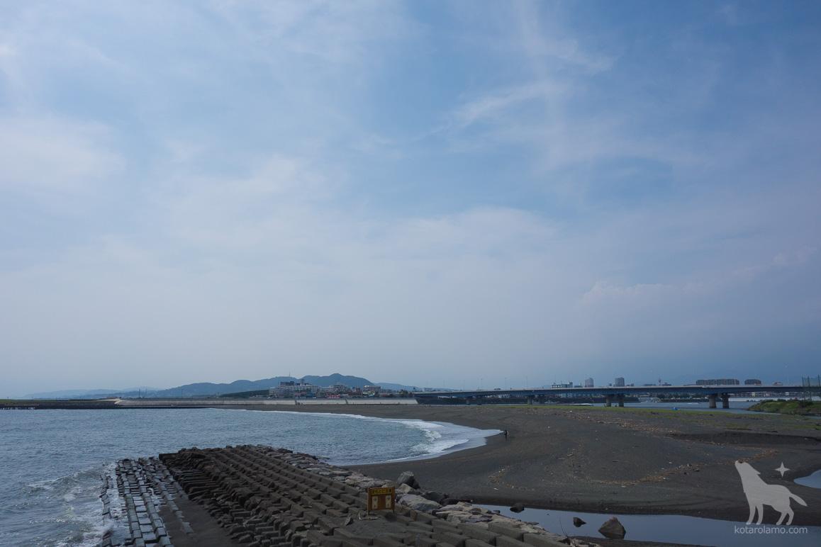 茅ヶ崎と平塚の境界