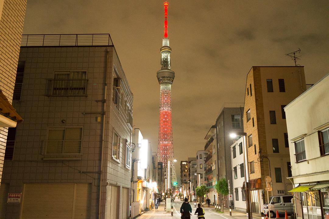 東京スカイツリー、特別ライティング