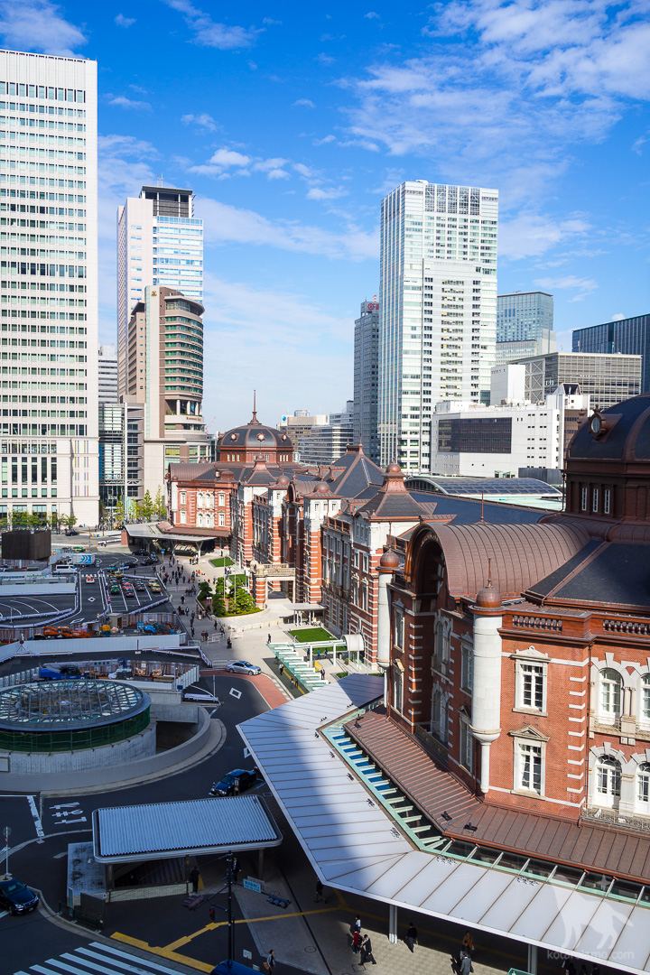 東京駅、丸の内南口、昼バージョン
