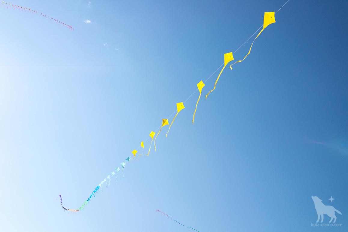 色鮮やかな凧