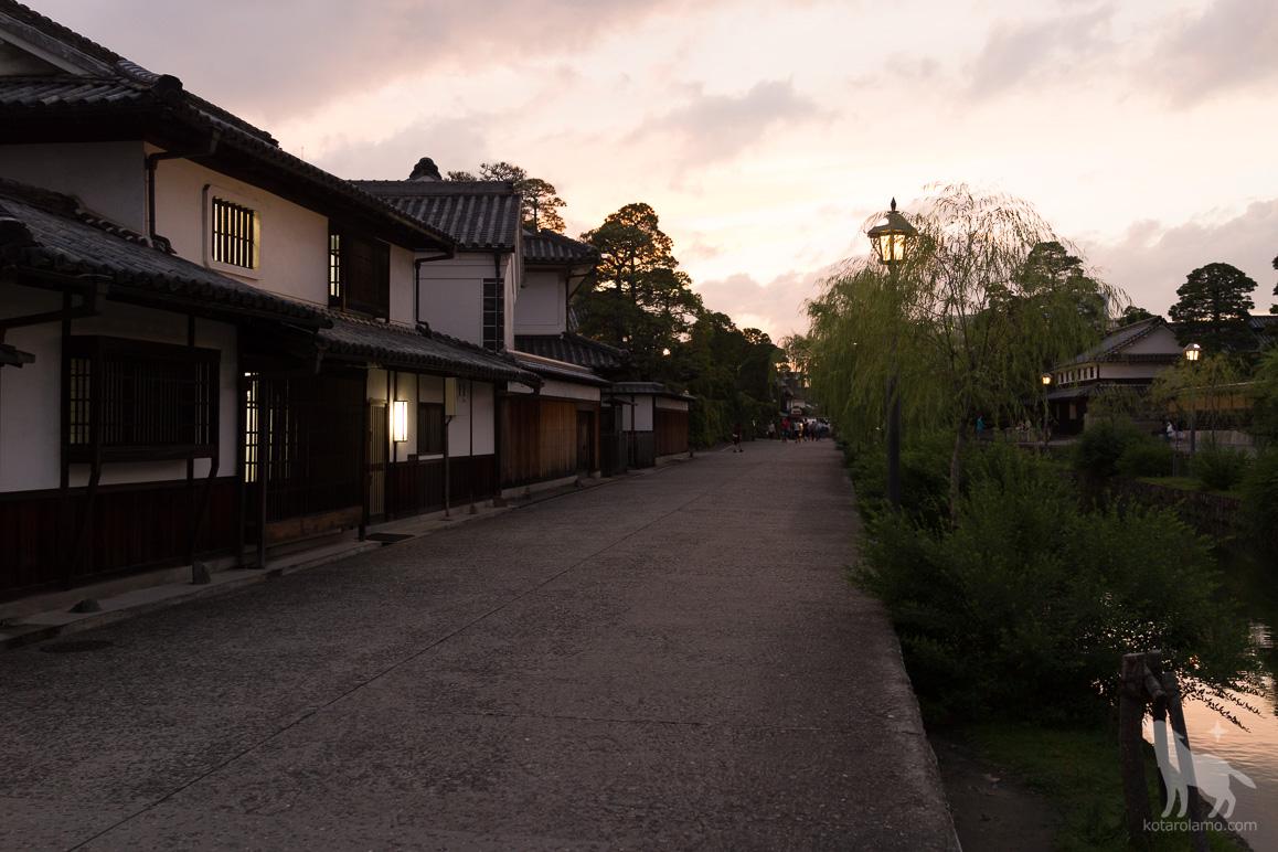 倉敷の美観地区を散策