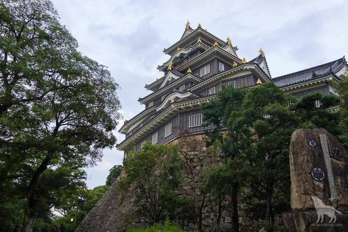 岡山城(RX1Rで撮影)